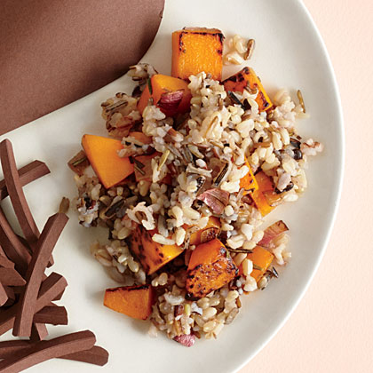 Wild Rice with Squash
