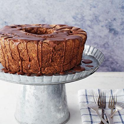 Chocolate-Almond Angel Food Cake