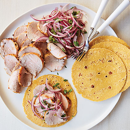 Cochinita Pibil with Habanero, Orange, and Onion