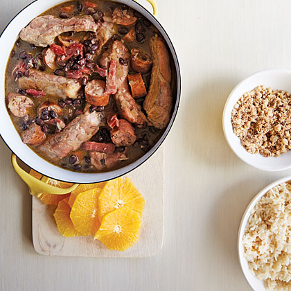 Feijoada Leve (Brazilian Black Bean Stew) RecipeFeijoada is, by most accounts, the recognized national dish of Brazil. With a full 12 ounces of lager beer incorporated into the stew, the flavors are out of this world delicious.