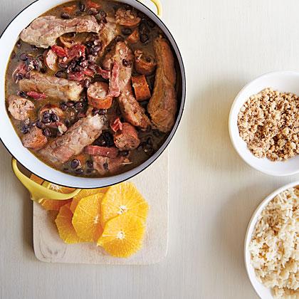 Feijoada Leve (Brazilian Black Bean Stew)