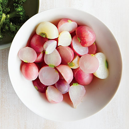 Radishes RecipeMastering the basics is easy with this simple guide to cooking plain radishes.