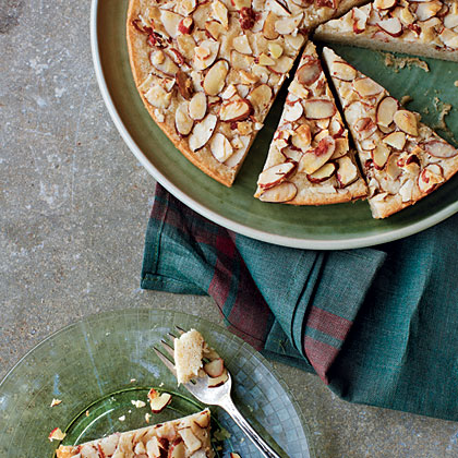 Scandinavian Almond Cake RecipeClaimed by both the Norwegians and the Danes, this sugary almond-topped cake is a favorite for all.