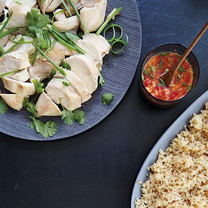 Singapore Chicken Rice Recipe | MyRecipes