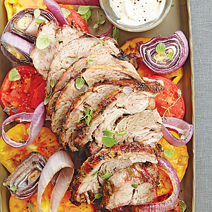 Greek-Style Slow-Grilled Leg of Lamb