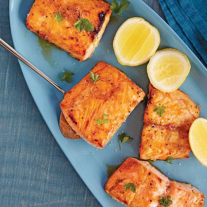 Sorghum-Roasted Salmon