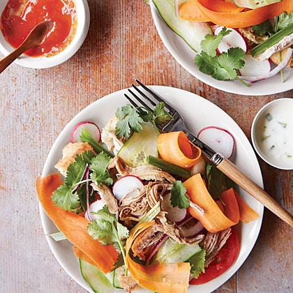 Spice-Simmered Pork  Bánh-Mì-Style  Salad
