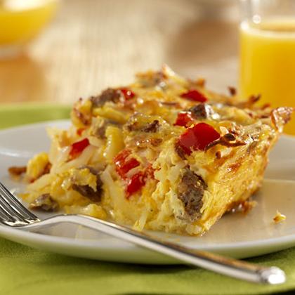 Potato, Sausage and Egg Breakfast Casserole