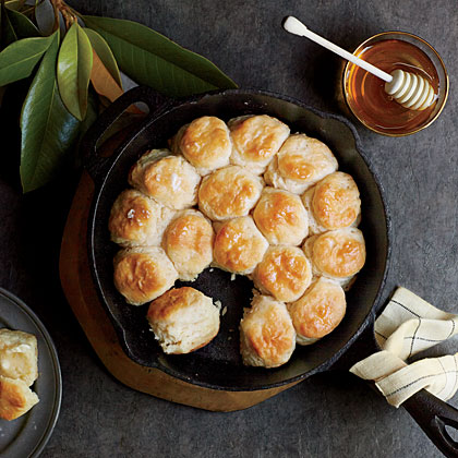 Angel Biscuits RecipeNestle these yeast biscuits snug together in the pan and they'll rise even higher when baked. You don't have to use all the dough at once--refrigerate in an airtight container up to 5 days.