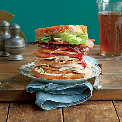 The Best Leftover Turkey Sandwich Ever Recipe Myrecipes