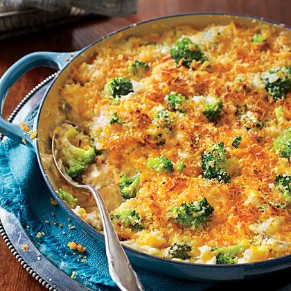 Cheesy Broccoli-and-Rice Casserole