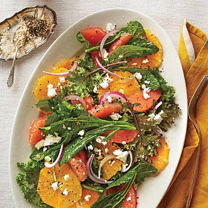 Citrus-Kale SaladRecipe