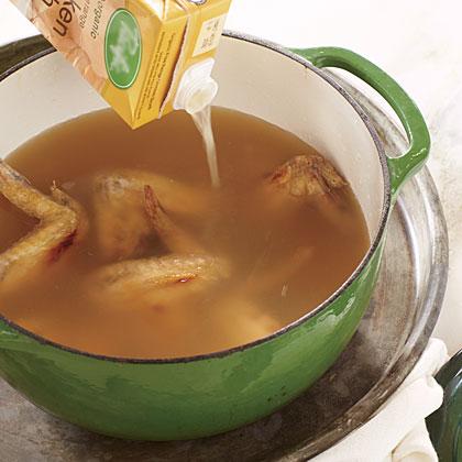 Easy Chicken Stock Recipe | MyRecipes.com