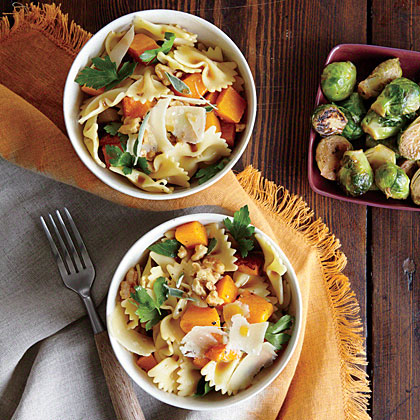 Farfalle with Butternut Squash Recipe