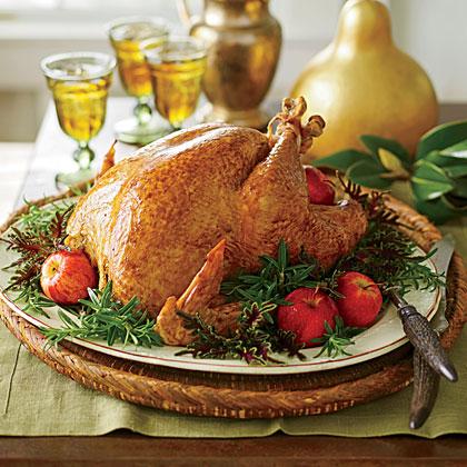 Grill-Smoked Turkey
