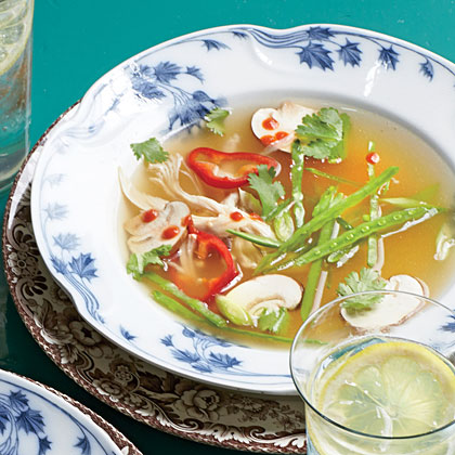 Lemongrass-Turkey Soup