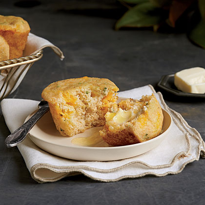 Spoon Bread Corn Muffins Recipe | MyRecipes