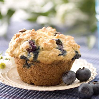 <p>PAM: Blueberry Lemon Yogurt Muffin</p>