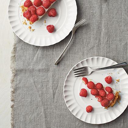 White Chocolate-Raspberry Pie Recipe | MyRecipes.com