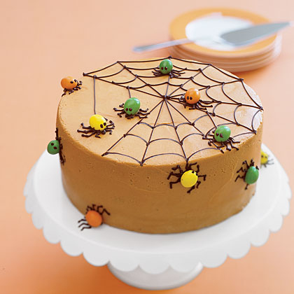 Cake of the Week: Spiderweb Spice Cake