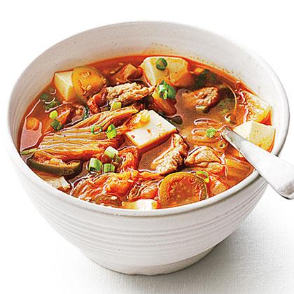 <p>Pork and Kimchi Stew</p>