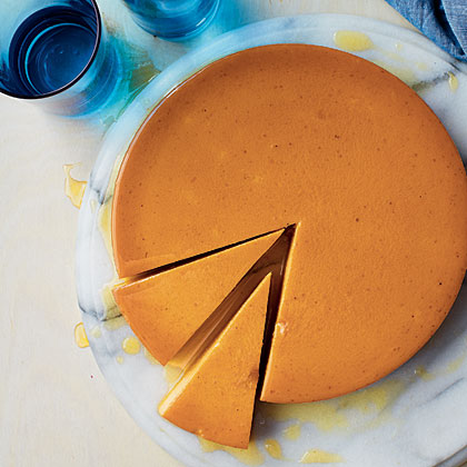 Pumpkin Flan RecipePumpkin lends a unique and mouthwatering spin to the classic custard layered dessert with a soft caramel top. This flan is convenient--it can be made in advance and kept refrigerated until ready to serve.