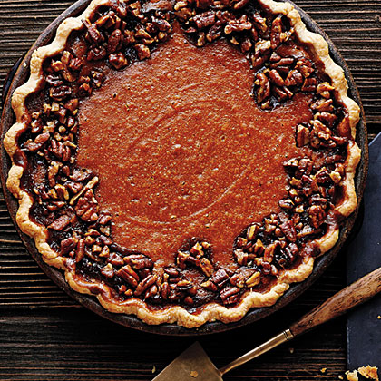 Sweet-Potato Pecan Pie