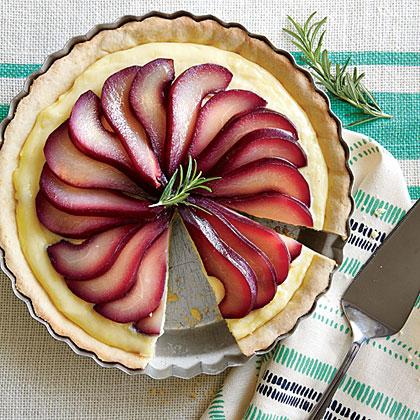 <p>Almond-Pear Pie</p>