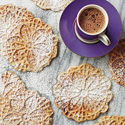Pizzelles RecipeAt last, the beloved cookie is now gluten-free friendly! You'll need a pizzelle iron to make these delicate Italian waffle cookies. Prepare the recipe using the Cannoli Shell Variation to make delicious cannoli.