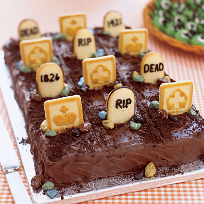Cake of the Week: Graveyard Cake