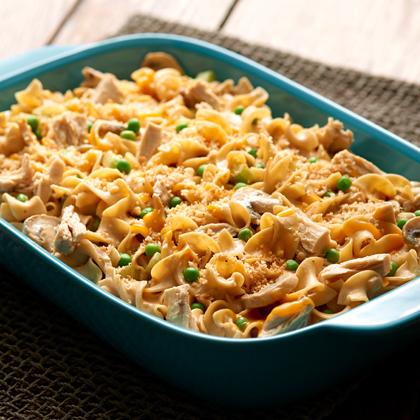 <p>No Yolks® Tuna Noodle Casserole</p>