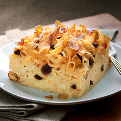 <p>Luscious No Yolks® Kugel</p>