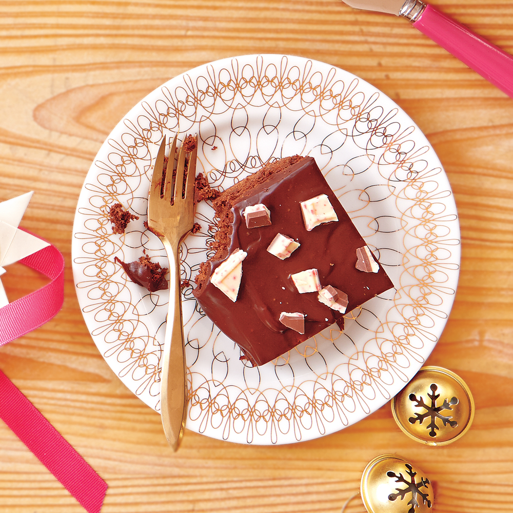 Peppermint-Bark Brownies