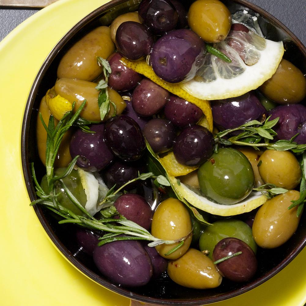 Herbed Spiced Olives