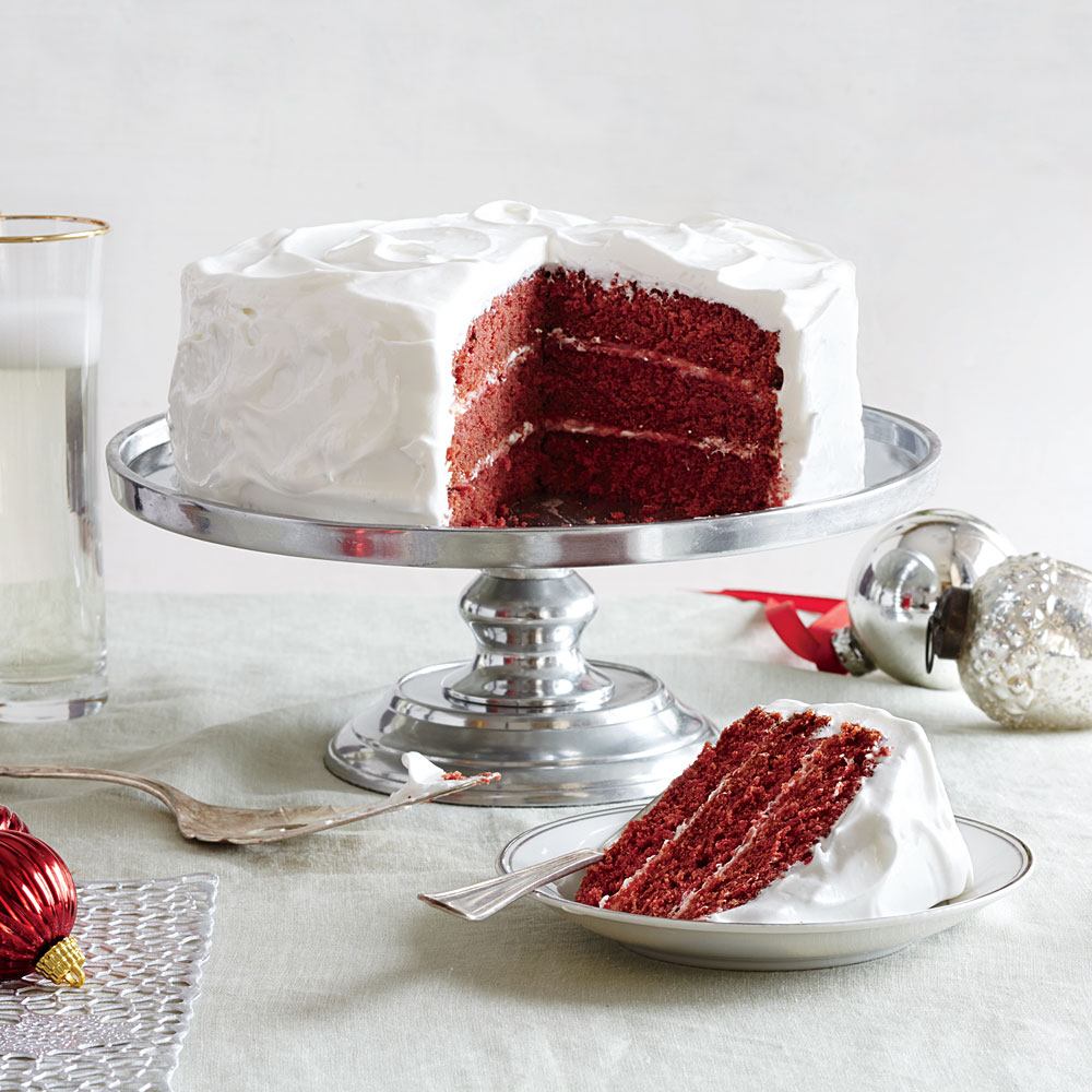 New Classic Red Velvet Cake