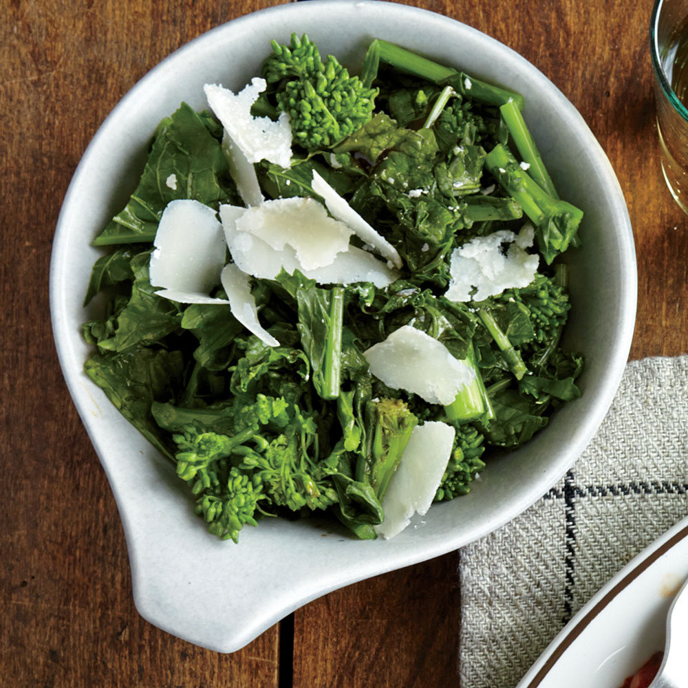 Balsamic Broccoli Rabe Recipe | MyRecipes
