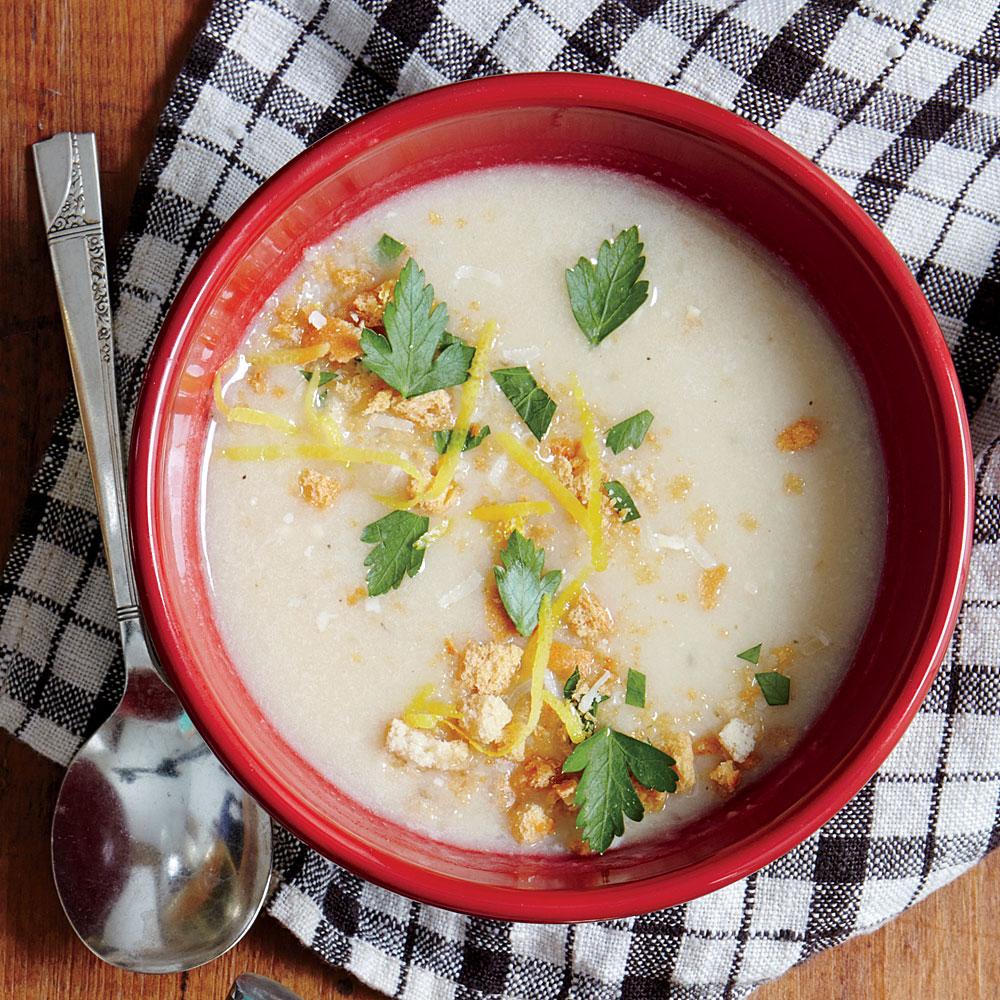 ck-Creamy Garlic Soup Image