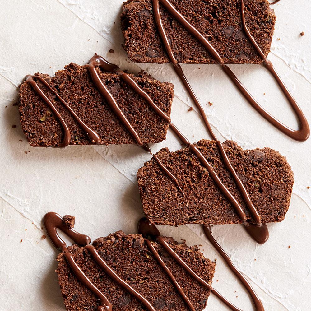Chocolate-Zucchini Loaf Cake