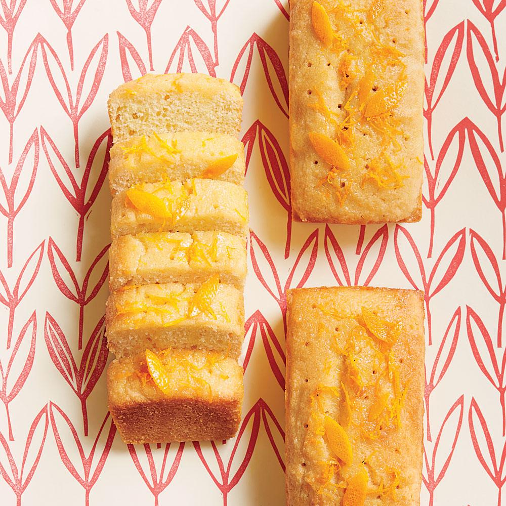Semolina Almond Orange Cake