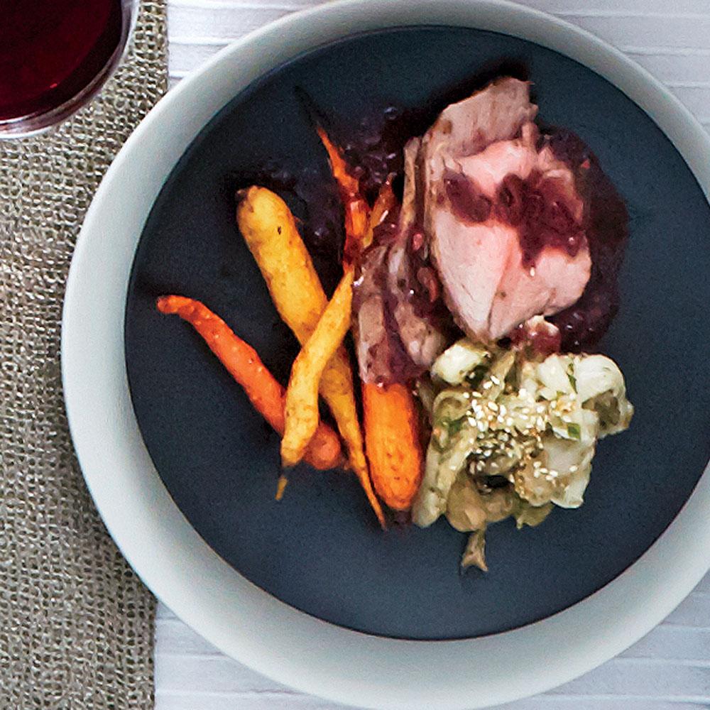 Harissa-Roasted Carrots
