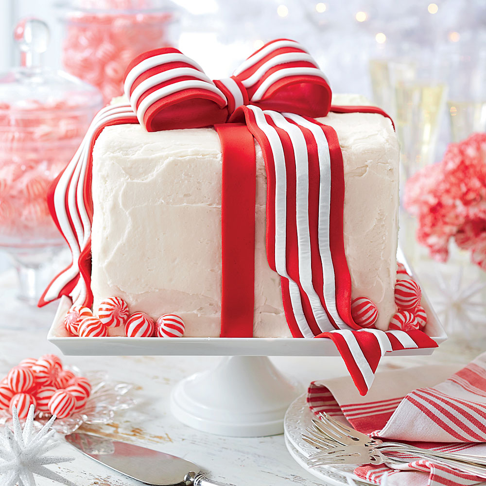 White Cake With Peppermint Frosting Recipe