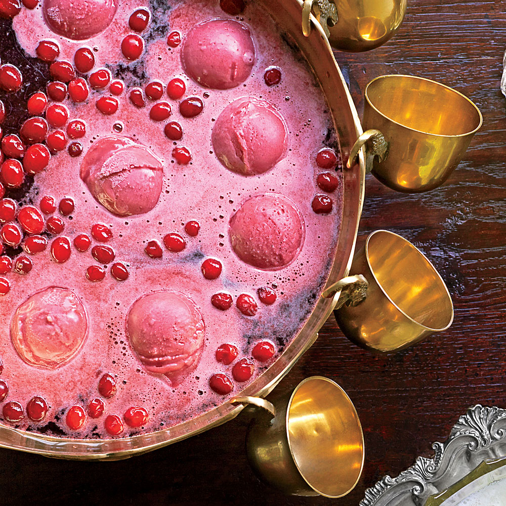 Cran-Raspberry-Vanilla Punch