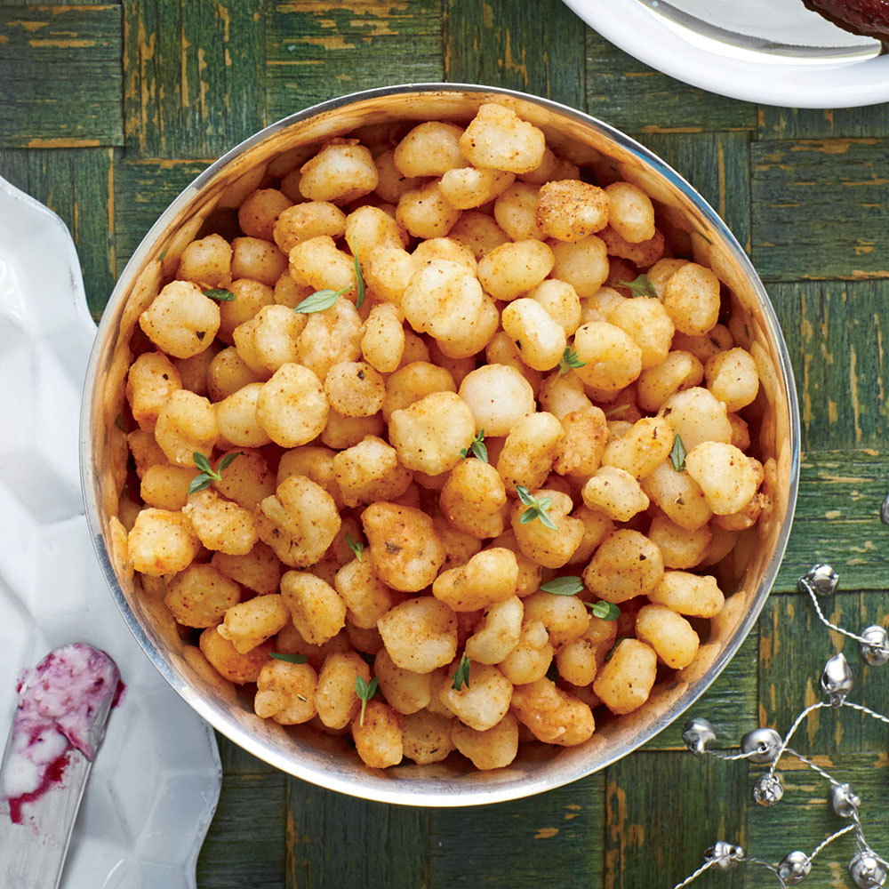 Fried Hominy