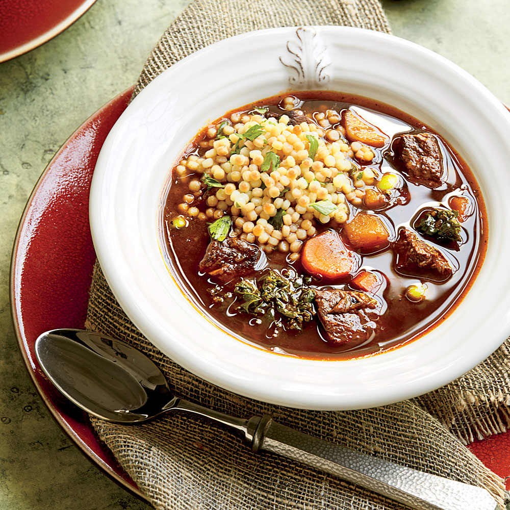 Harvest Beef Soup Recipe Myrecipes