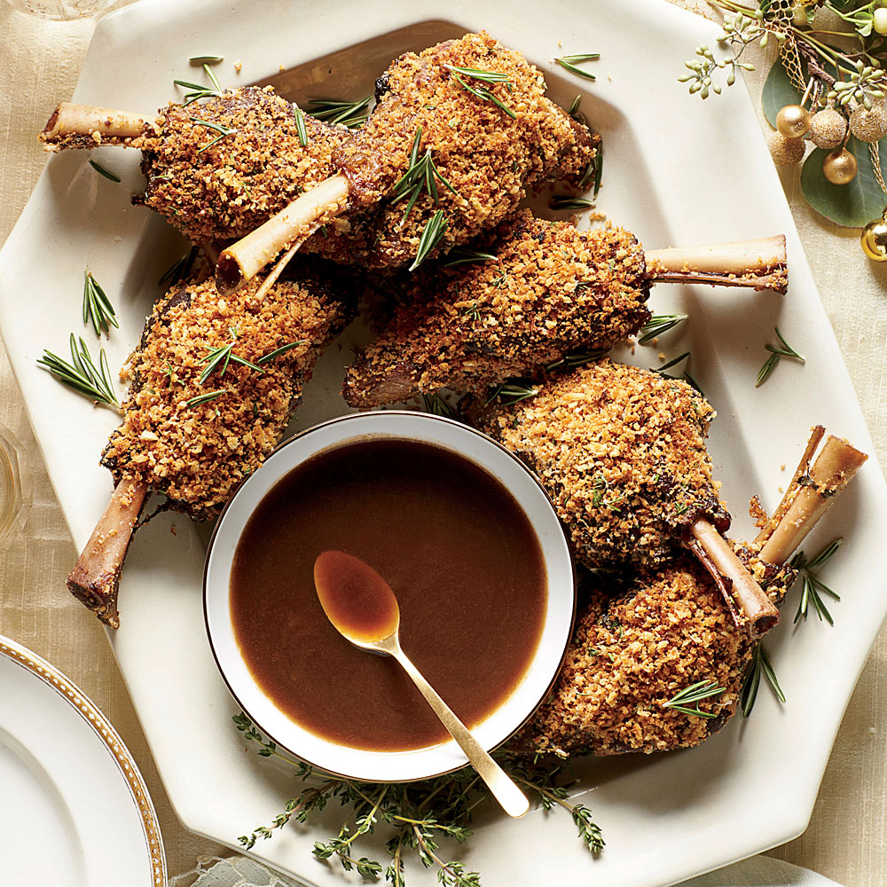 Parmesan-Crusted Lamb Shanks