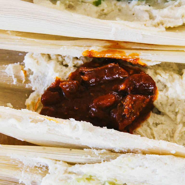 Pork And Red Chile Tamale Filling Recipe Myrecipes