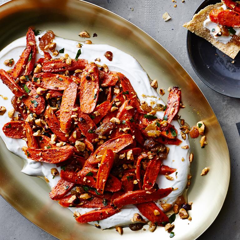 Roasted Carrot Platter