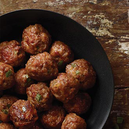 Zesty Sausage Cheese Balls
