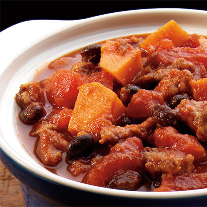 Sausage & Sweet Potato Chili