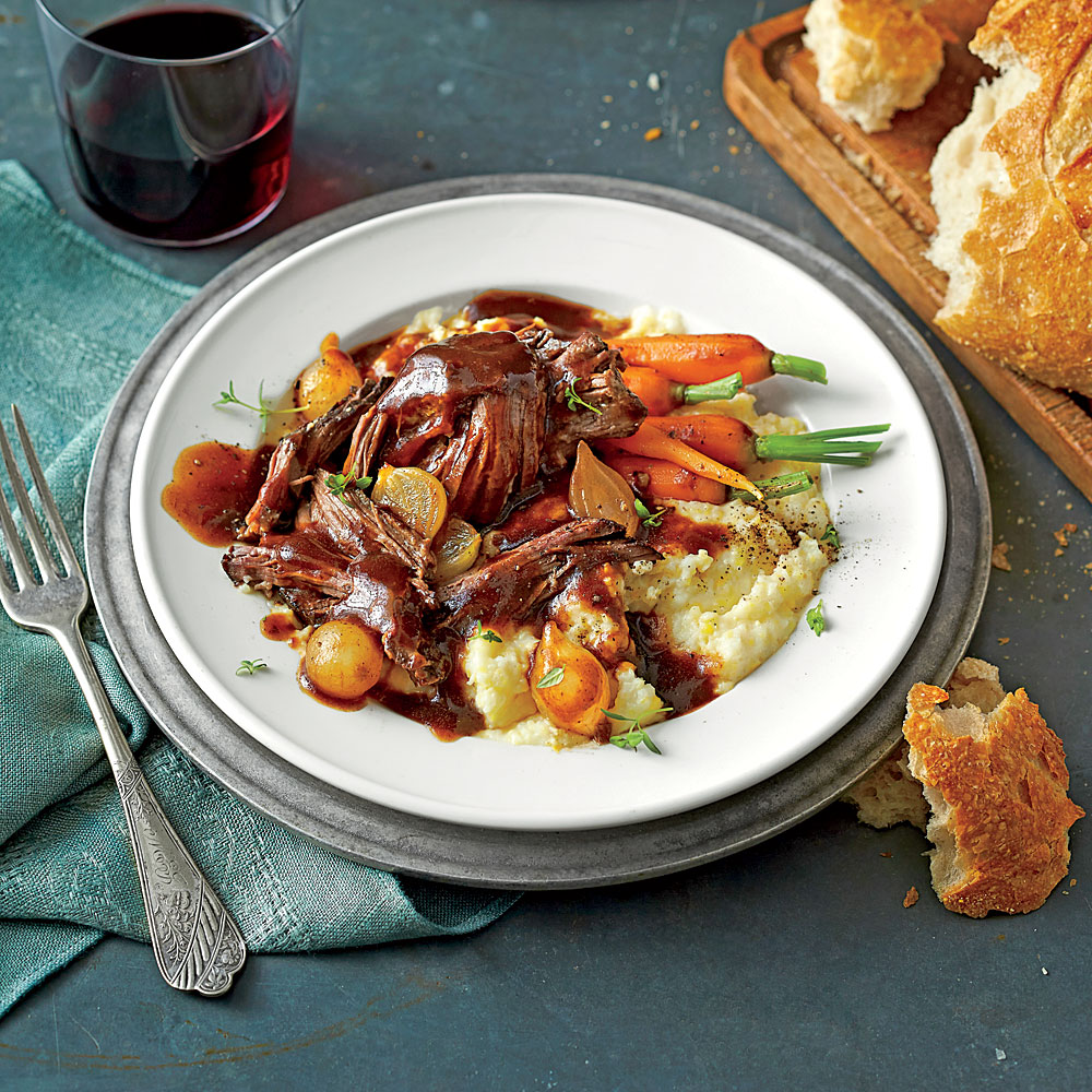 Beer-Braised Pot Roast